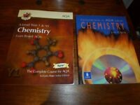 AS and A Level Chemistry and Chemistry calculations revision books for sale  Norfolk
