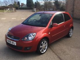 Ford Fiesta Zetec Climate 1.4 TDCI (08) 64,000 miles Diesel Manual 3 door FSH New Cambelt Warranty