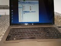 "Laptop HP G 72 17"" screen excellent condition"
