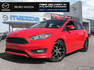 2015 Ford Focus  SPORT! AUTO! LOW KMS! NEW TIRES! $5
