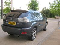 56 reg 2006 lexus rx 400h 4x4 awd automatic hybrid, 1 owner, 12 mot, f/s/h, hpi clear 100%