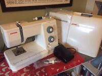 Janome 525s Sewing Machine - Recently Serviced - Model used on Great British Sewing Bee