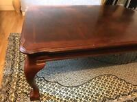 Large French coffee table