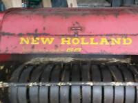 New Holland super hayliner 68 bayler
