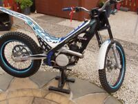 Sherco 125cc Trials bike - swap/sell/p/exchange