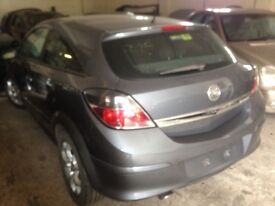2006 Astra 3dr parts and 1.6 Z16 XEP engine and grey Z1 55 colour code panels