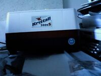 Kristall 2000S glass grinder hardly ever used