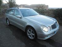 2003 53 Mercedes E320 CDI Avantgarde Auto Estate, FSH, 11 MOT, New Winter Tyres and Wheels