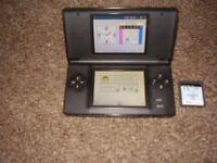 NINTENDO DS LITE WITH GAME AND CHARGER