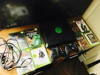 Original Xbox with 2 controllers 8 games!!!