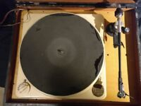Collaro 4TR 200 4-Speed Idler Drive Turntable