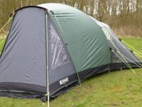 Outwell Hartford S 4-man Triple Room Dome Tent