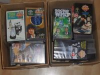 old doctor who vhs video tapes