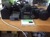 Canon EOS 350D 8.0MP Digital SLR Camera - Black (Kit w/ 18-55M LENS) 2 MEMORY CARDS INCLUDED