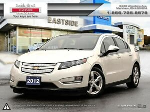 2012 Chevrolet Volt Electric B.Tooth-Heated Leather Seats-Wheels