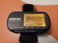 GARMIN FORERUNNER 101 GPS SPEED/DISTANCE MONITOR WATCH