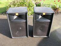 JBL PA Speakers TR 125 x 2