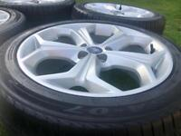 2012 ford s max 18 alloys/ with tyres