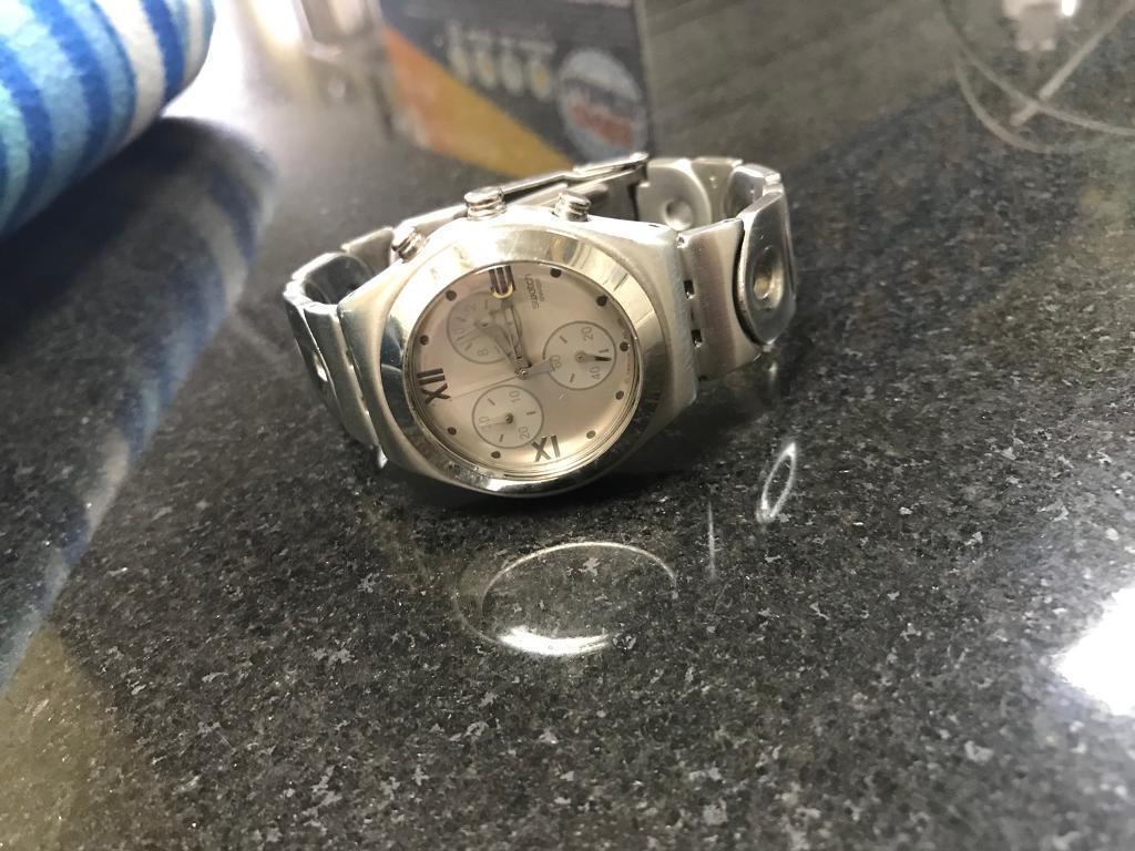 Vintage swatch irony