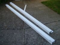Marshall Tufflex Maxi PVC trunking 100mm For power sockets or hide plumbing cables and pipes.