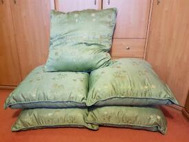 Large Cushions x 6 - New, Small Cushions x 6 - New