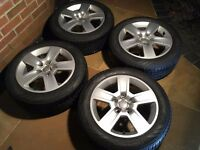 """Audi/VW Alloy Wheels 16"""" and Winter Tyres"""
