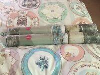 2 Rolls of Wallpaper, wood effect look both sealed!