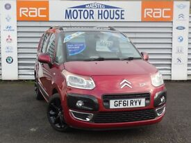 Citroen C3 Picasso EXCLUSIVE HDI (£30.00 ROAD TAX) FREE MOT'S AS LONG AS YOU OWN THE CAR!!!
