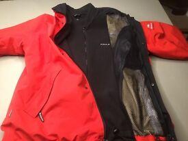 Men's Eider Gore Tex Ski Jacket with removable fleece liner