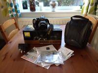 Nikon d3100 digital DSLR camera in excellent condition