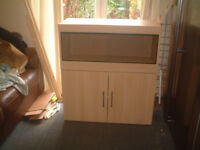 BRAND NEW 3FT VIARIUM AND CABINET IN MONTANA OAK