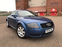 SUPERB AUDI TT QUATTRO-RARE*AUTOMATIC*EXAMPLE-FULL LEATHER INTERIOR-TOP RANGE-FULL SERVICE HISTORY