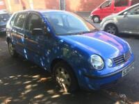 Vw polo Breaking For Spares bonnet bumper wing 03 04 05