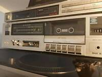 Jvc tape deck kdv200 and technics tuner st400l 400l in excellent condition