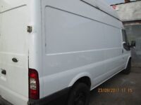 Ford Transit 3 piece High Roof RoofRack with rear roller for easy loading , in 1st class condition