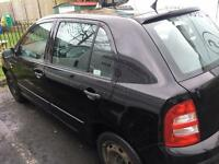 Skoda Fabia 2005, 1.4 diesel manual black