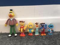 Vintage Sesame Street toys