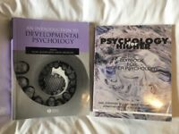 2x Psychology textbooks