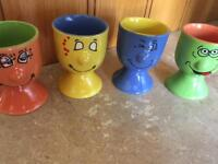 Quirky egg cup sets