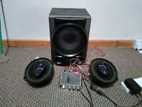2.1 speakers amplifier subwoofer car speakers computer speakers
