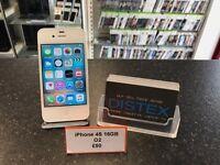 iPhone 4S 16GB O2 White