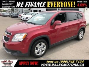 2014 Chevrolet Orlando 1LT| 7 SEATER| BLUETOOTH| SATELLITE RADIO
