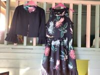 Ted Baker Dress & Jacket ***Only Worn Once*** Age 14yrs