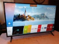 Brand new boxed LG 43 inch 43UN7100 SMART 4K UHD HDR LED TV WITH WIFI, apps