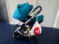 Mamas and papas original buggy for newborn and toddlers incl boogie board multifunctional