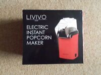 Brand New Livivo Electric Instant Popcorn Maker