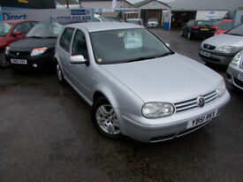 PART X DIRECT OFFERS THIS RARE VW GOLF GT TDI 1.9 DIESEL NEW MOT +WARRANTY, PLEASE READ DISCRETION