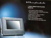 Wharfedale 7in Tablet DVD Player