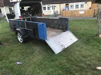 Car Aluminium Base Towing Trailer 9ft x 5ft