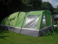 Hi gear Voyager Elite 6 Tent, Porch, Footprint and Carpet